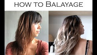 How to BALAYAGE your Hair at HOME | Mel Hair & Style