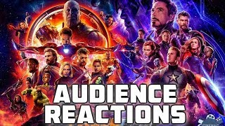 Avengers Infinity War & Endgame {SPOILERS} California: Audience Reactions | April 25, 2019