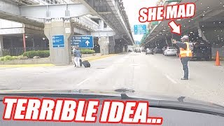 Launching a GT-R In The Airport Arrivals Lane
