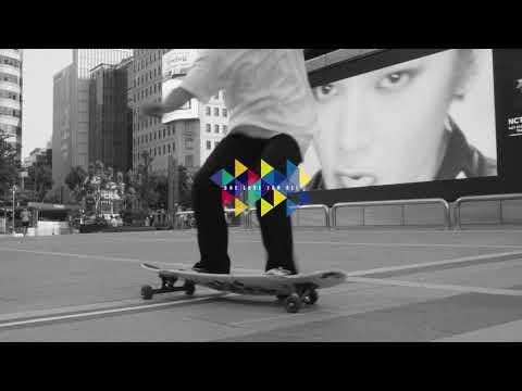 Video 1LOVE planche longboard TAPETE 42 Grey