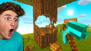 DESTROYING Minecraft With REAL LIFE PHYSICS (Mods)