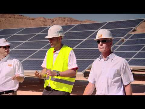 Siemens and Arava Power: Working together at Kibbutz Ketura