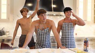 ASKING NOAH BECK ABOUT DIXIE D'AMELIO | F-Boy Kitchen
