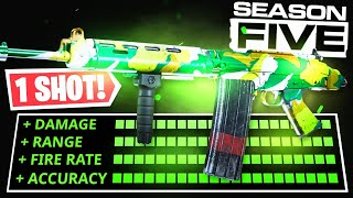 the 1 SHOT FAL CLASS SETUP in SEASON 5! NEW BEST GUN AFTER BUFF! (Modern Warfare Warzone)