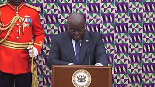 #SONA2019: We must not take our peace and security for granted - Akufo-Addo.