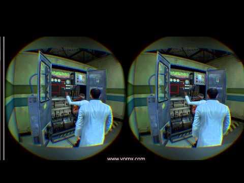 Black Mesa in Oculus Rift DK2 OMG!! (Vorpx Hack)