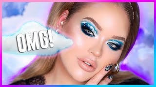 THE CLOUD EYE MAKEUP TREND!