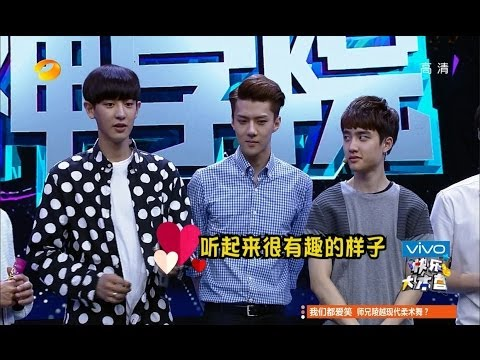 [1080P] 140705 EXO @ Happy Camp 快乐大本营