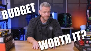 Are Budget builds ACTUALLY worth it?