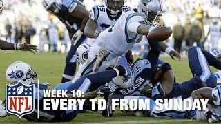 Watch Every Touchdown from Sunday (Week 10) | NFL RedZone