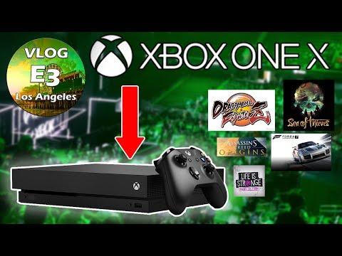 XBOX ONE X ! Retour sur l'annonce Console & Jeux ! - YouTube