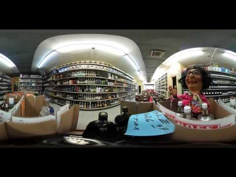 Gladys Ridgeford in Booze Heaven - DRINK!  Gear360 Virtual Reality