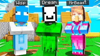 Minecraft But YouTubers are Villagers...