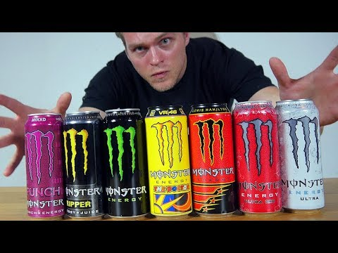 3,5 LITRA MONSTER ENERGY CHALLENGE (DUPNĄŁEM SE MONSTERKA) | [Epic Chug Meal]
