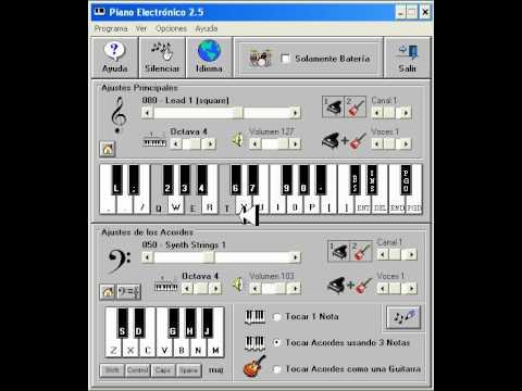La Liga - Mi Condena. PIANO ELECTRONICO 2.5 (MEJORADO)