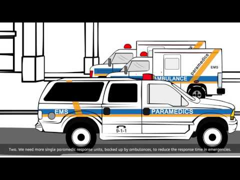 Video: Ambulance paramedics: saving lives in our communities