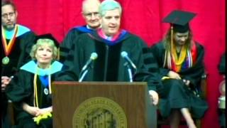 'SP 2012 Graduation Ceremony - Regent Logan's Address