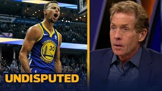 It was 'shameful' that Steph Curry wasn't suspended for throwing his mouthpiece | UNDISPUTED