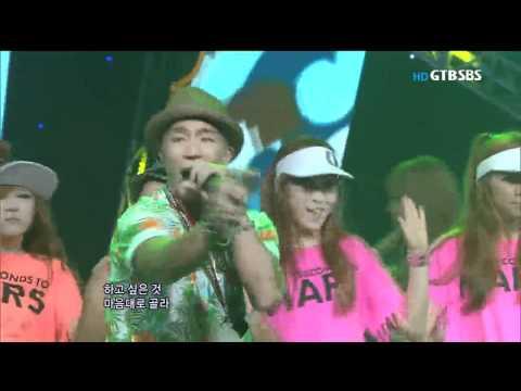 [SBS인기가요] 마이티마우스(feat.Soya) - 랄랄라 110710