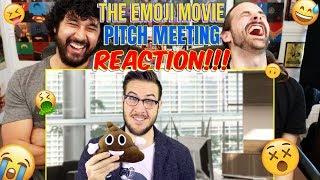THE EMOJI MOVIE Pitch Meeting - REACTION!!!