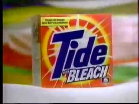 Tide With Bleach Ad From 1996 The Jones Family Youtube