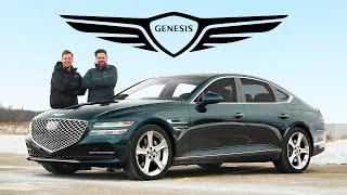 2021 Genesis G80 Review // $60,000 Mercedes Killing Machine