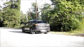 Evo X ETS Single Exit Titanium Exhaust
