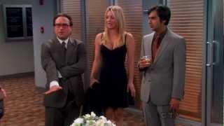 Kaley Cuoco In Sexy Tight Dress - The Big Bang Theory