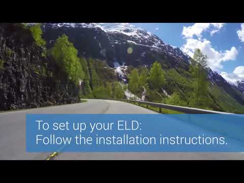 Setting Up your ELD