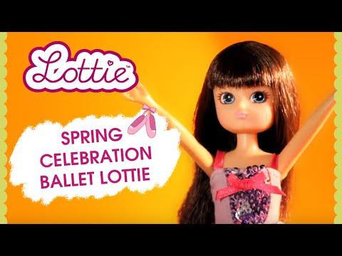 Spring Celebration Ballet Lottie Doll