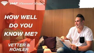"Thomas Röhler and Johannes Vetter play ""How Well Do You Know Me"" - Episode 4"