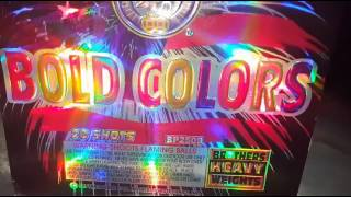 Bold Colors 20 shot 500g - Brothers Pyrotechnics
