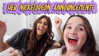 Her Nickelodeon Announcement! (WK 406) | Bratayley