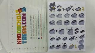 Hướng dẫn lắp ráp Huimei HM202 Lego Mickey Mouse MOC Mickey in diving suit giá sốc rẻ nhất