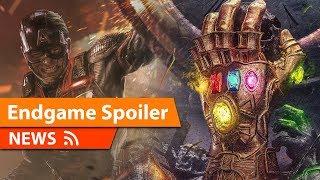 HUGE Avengers Endgame Spoiler Revealed