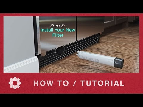 How to Install Whirlpool EveryDrop Ice & Water Refrigerator Filter 3