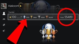 Looking at THE TOP PS4 TROPHY HUNTERS IN THE WORLD PS4 PROFILES!