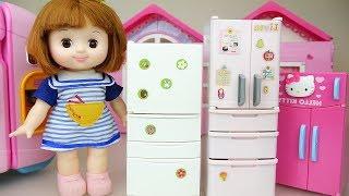 Baby doll refrigerator toys Baby DoLi play