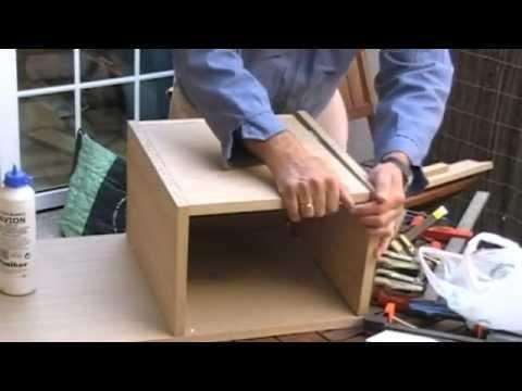 Como hacer tu propio vanitory en casa musica movil - Como hacer un mueble de bano rustico ...