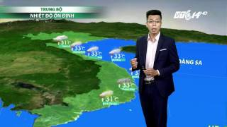 (VTC14)_ Thời tiết tổng hợp ngày 19/7/2017
