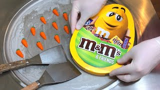m&m Ice Cream Rolls (Easter Edition) | how to make mms to delicious Ice Cream | m&m's m and m & m