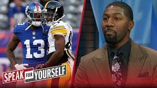 Odell Beckham Jr. or Antonio Brown? Greg Jennings chooses the better WR | NFL | SPEAK FOR YOURSELF