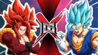 Gogeta VS Vegito ( Dragon Ball VS Dragon Ball )