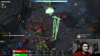 StarCraft 2 LOTV Protoss vs Zerg Explaining play style and reactions.
