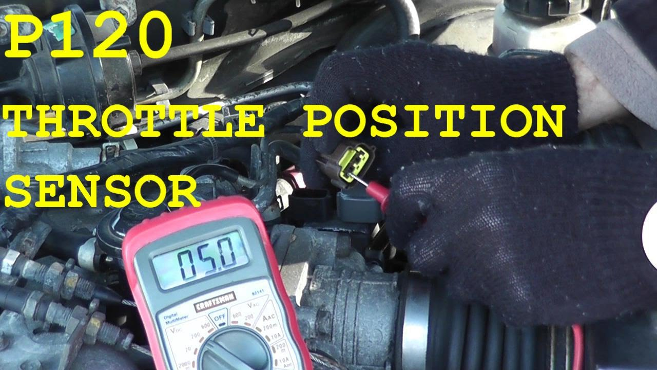 how to test and replace the throttle position sensor tps 2002 saab engine diagram 2002 explorer engine diagram #8