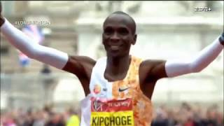 MARATHON LONDON 2019 - ELIUD KIPCHOGE Power - Last 10 minutes of fight for victory. Motivation video