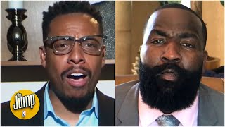 Pierce & Perk get HEATED talking about LeBron and Giannis   The Jump