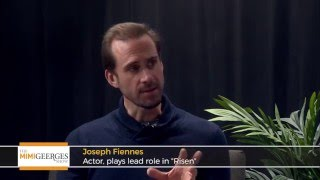 Actor Joseph Fiennes on the Movie