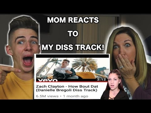 MOM REACTS TO MY DANIELLE BREGOLI DISS TRACK