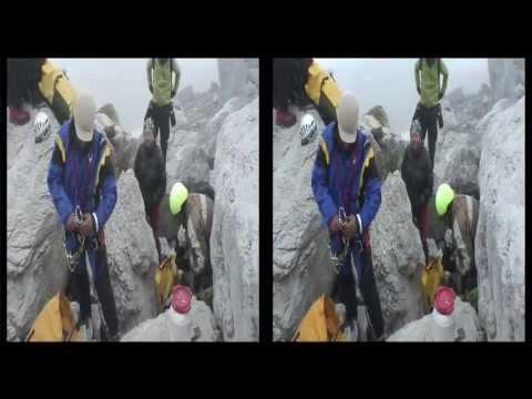 Documental estereoscópico sobre la cascada de Gavarnie.
